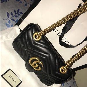 Gucci Bags - GG Marmont 2.0 Matelasse Leather Shoulder Bag